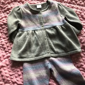 Cute toddler girl two piece set by Gymboree